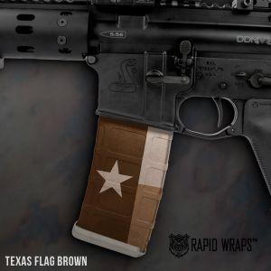 Texas Flag Brown