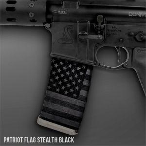 Patriot Flag Stealth Black