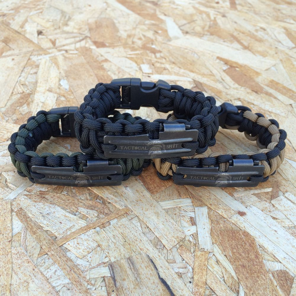 Tactical P51 Escape And Evasion Bracelet With Handcuff Key By Re Factor