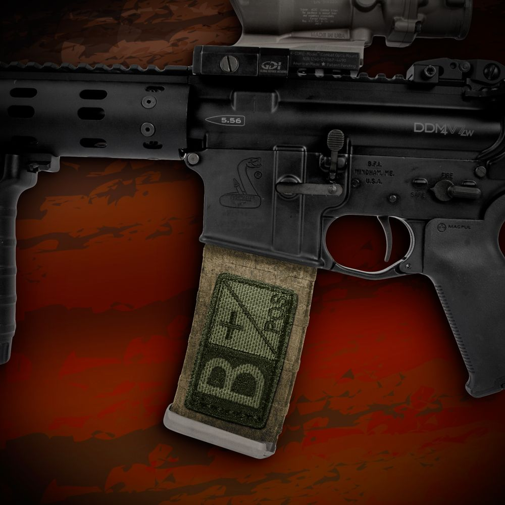 Ar 15 Mag Wraps Blood Type 3 Pack