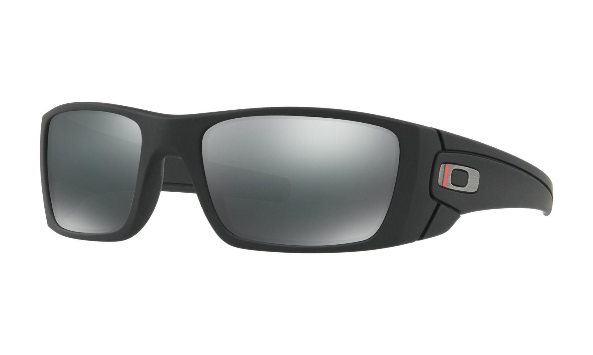 956d85301e4a2 Oakley SI Fuel Cell ThinRedLine Satin Black w  Black Iridium
