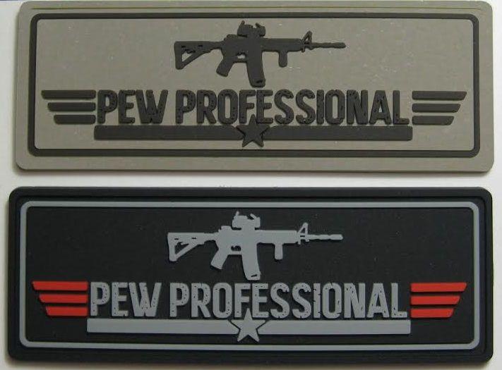 Morale patch PVC PHPF Pew Hard Pew Fair