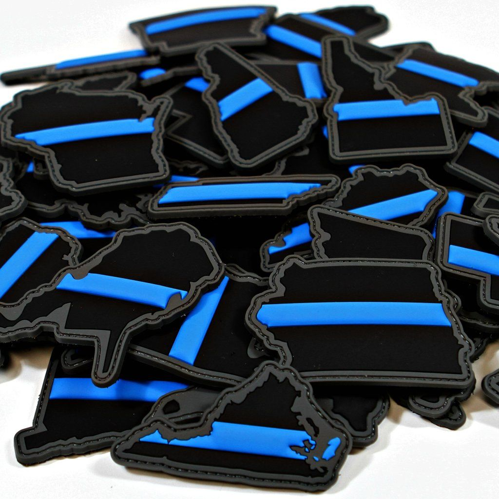 Every State in Thin Blue Line Patches f202e0c715d