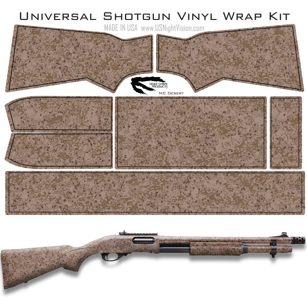 Tiger Stripe Products Camo Pre Cut Universal Rifle Skin