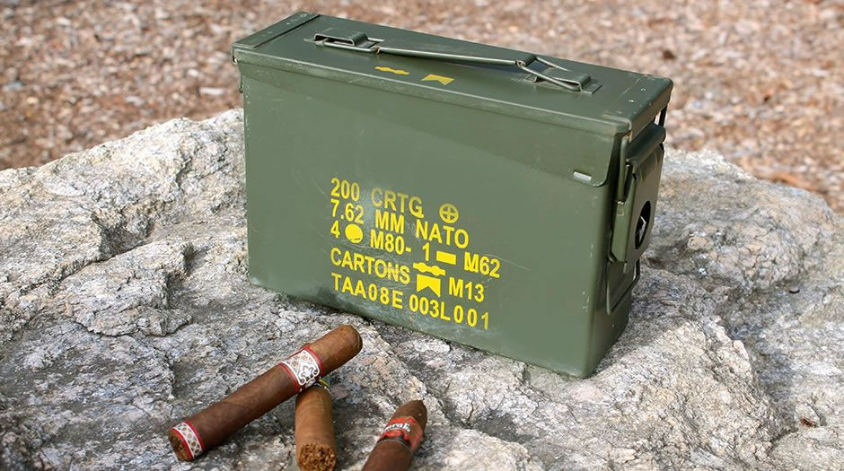 The 30 Ammo Can Cigar Humidor