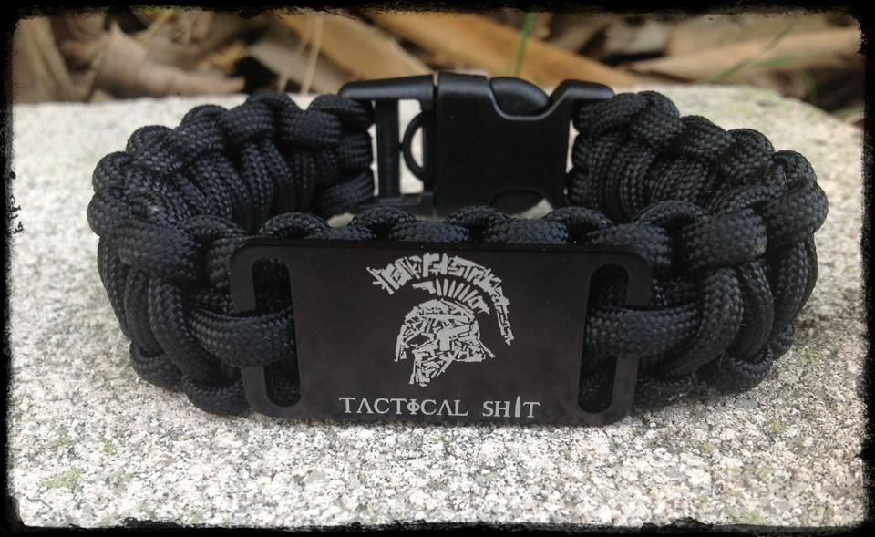 550 Survival Bracelet With Removable Handcuff Key Buckle