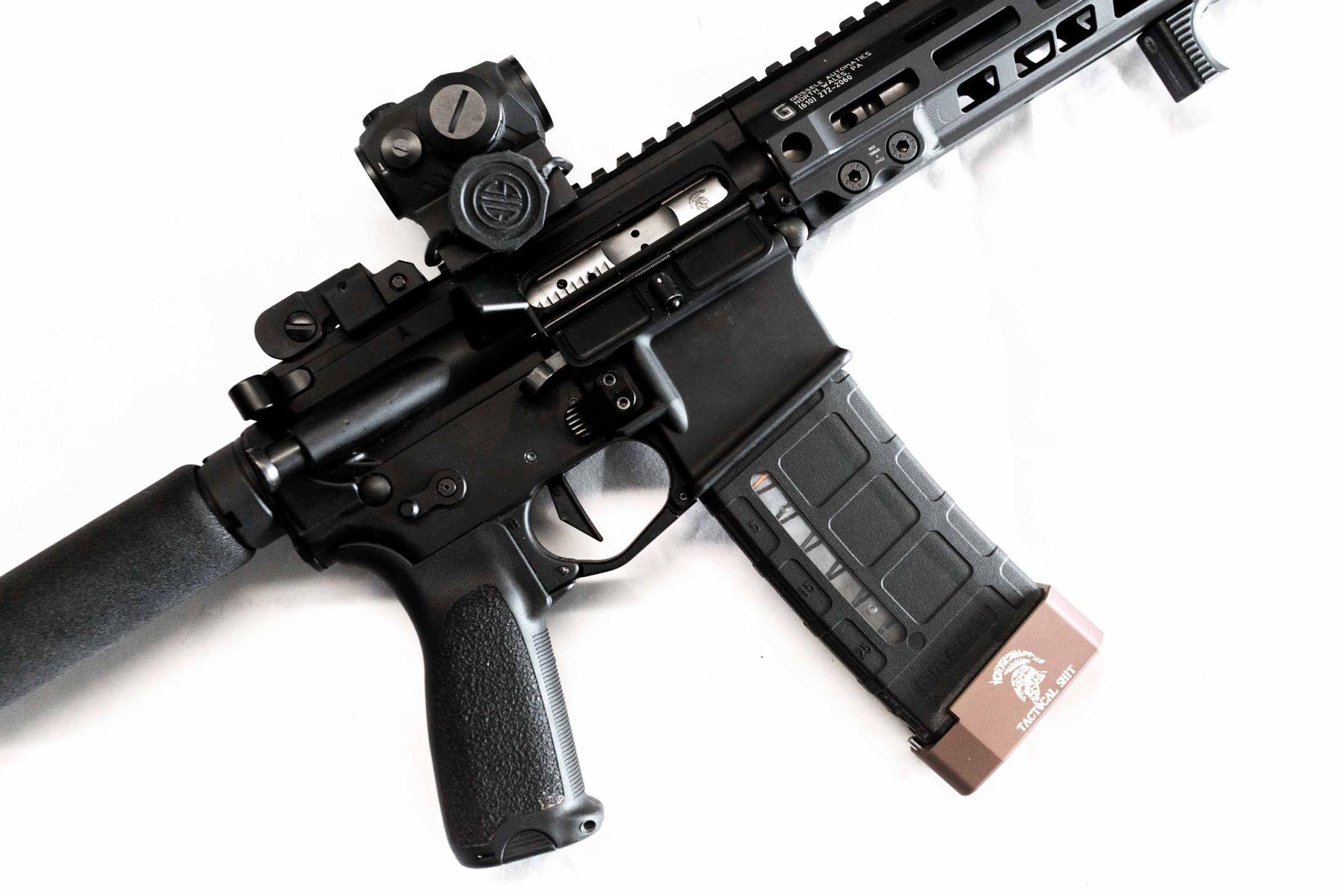 Guns N Ammo | Tti Pmag Bp 223 +5 Tblu