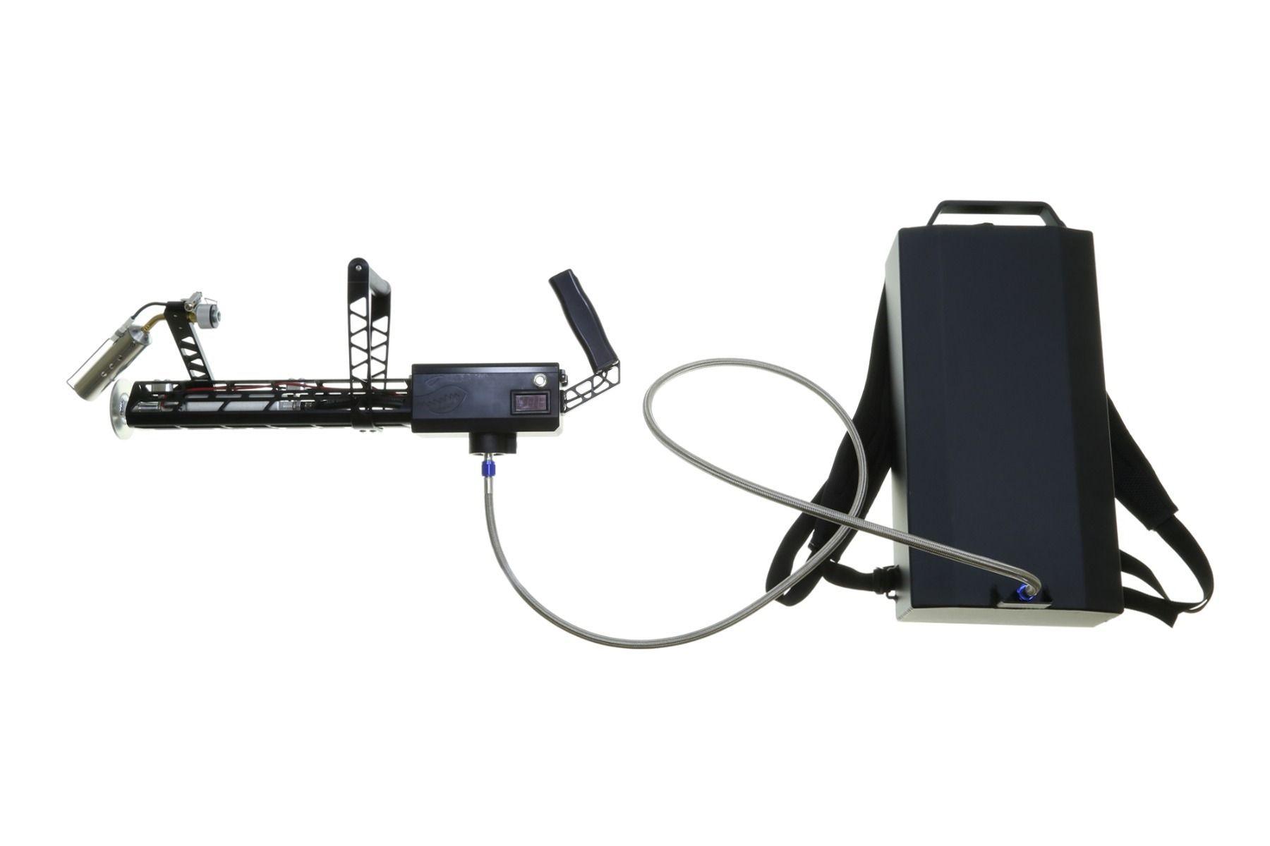 XM42-M Flamethrower Modular - Black - Includes Ultralite Backpack - 4
