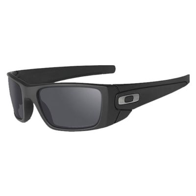 Oakley SI Fuel Cell Cerakote Graphite Black w/ Black Iridium Polarized