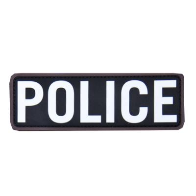 POLICE 6x2 PVC Patch-Swat
