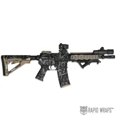 Moon Shine™ Camo Pre-Cut Black Rifle (AR) Accent Wrap Kit