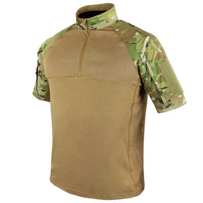 Short Sleeve Combat Shirt with MultiCam