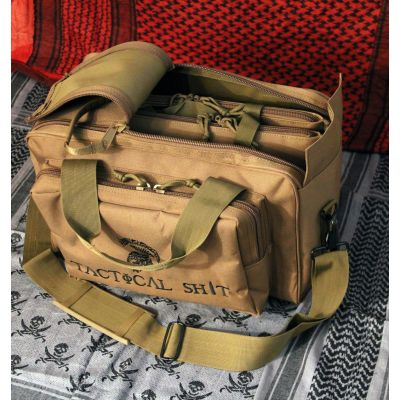 Tactical Shit 4 Gun Range Bag