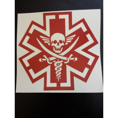 Tactical Medic Pirate Decal