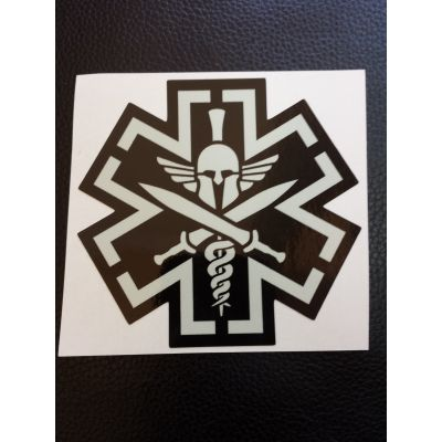 Tactical Medic Spartan Decal