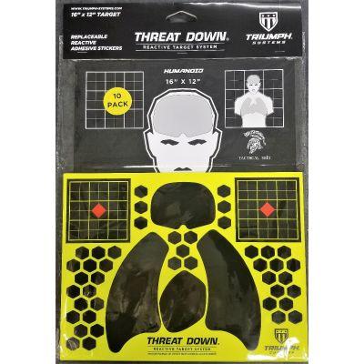 Threat Down Tactical Shit Humanoid Reactive Target