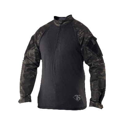 Tru-Spec TRU 1/4 Zip Combat Shirt Nylon/Cotton Rip-Stop