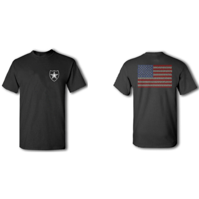 2nd Infantry Division Tribute T-Shirt