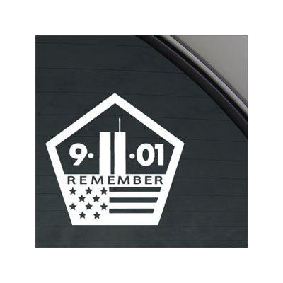 9/11/01 Sticker