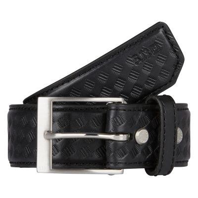 """5.11 1.5"""" Basketweave Leather Belt"""