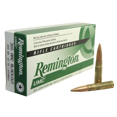 Remington UMC 300BLK 220GR OTFB 20/200