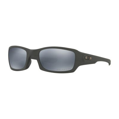 Oakley SI Fives Squared Cerakote Cobalt Black Iridium Polarized