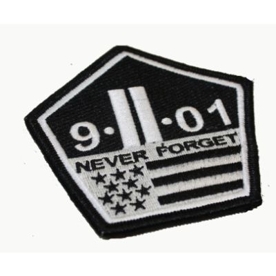 9/11/01 Never Forget Patch