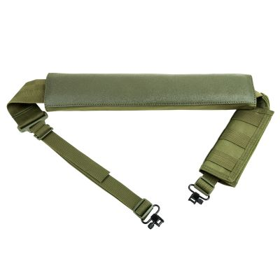 Shotgun Bandolier Sling With Sling Swivel Hardware - Green
