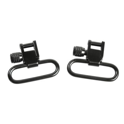 "1"" Lockable Sling Swivel Hardware - Black"