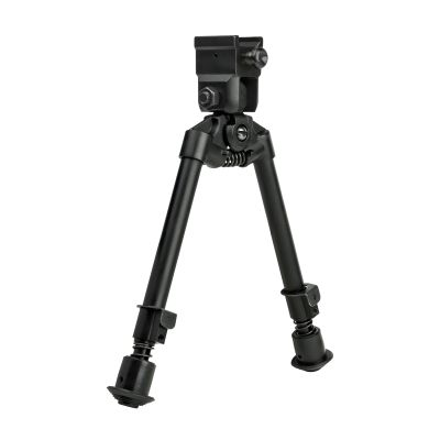 Bipod With Weaver Quick Release Mount/ Universal Barrel Adapter Included/Notched Legs