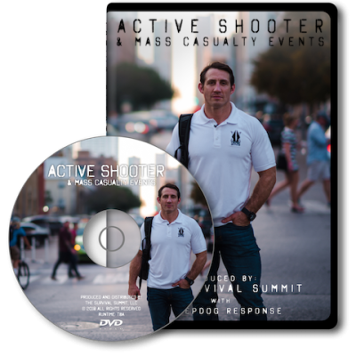 Active Shooter and Mass Casualty Events DVD by Sheepdog Response/ Tim Kennedy