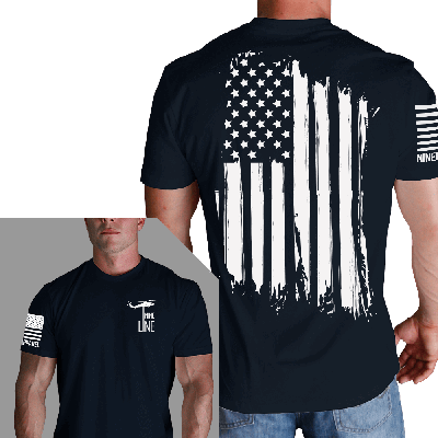 Nine Line Apparel America Mens Tshirt