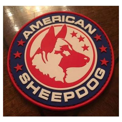 American Sheepdog PVC Patch