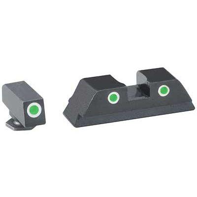 Ameriglo Classic Glock Tritium Night Sights (Green)