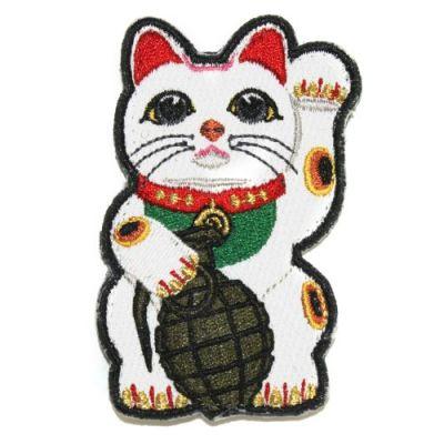 Maneki Grenade - Lucky Cat Patch