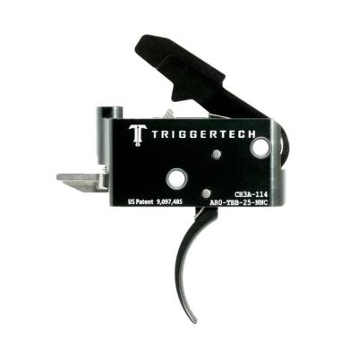 Triggertech Adaptable AR Primary Trigger PVD Black Curved