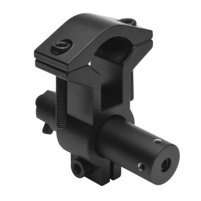 Red Laser Sight With Universal Barrel Mount/Black