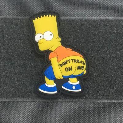 Don't tread on me- Bart- 3d PVC Morale Patch