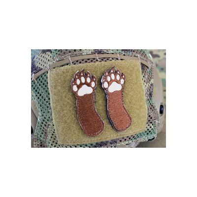 Right Two Bear Arms Patch Set