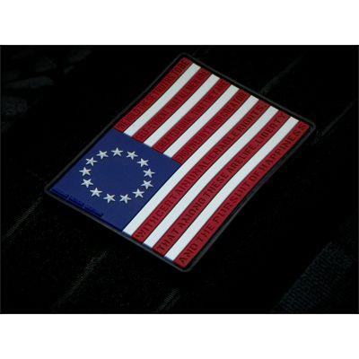Betsy Ross 3d PVC Patch