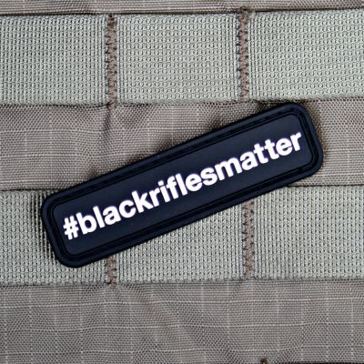 #BLACKRIFLESMATTER MORALE PATCH