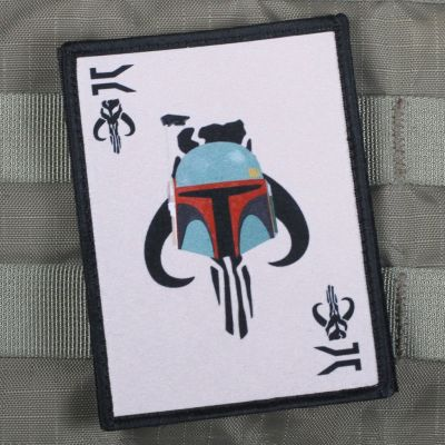 Boba Fett Death Card Morale Patch