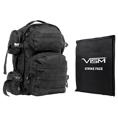 Tactical Backpack with 10x12 Soft Ballistic Panel
