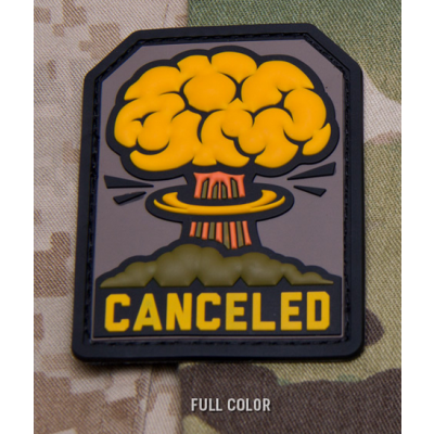Canceled PVC Patch