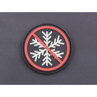 NO SNOWFLAKES ALLOWED GITD 3D PVC MORALE PATCH