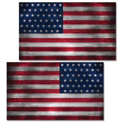 Vehicle Decal - Flag Set
