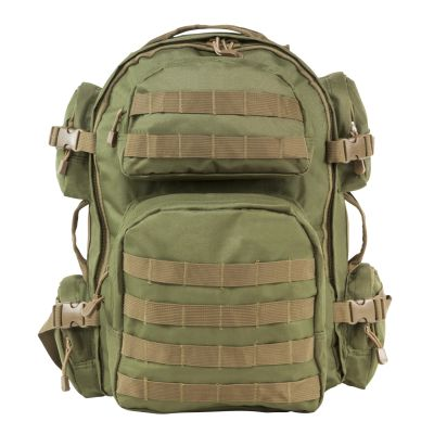 Tactical Backpack Od Green With Tan Trim