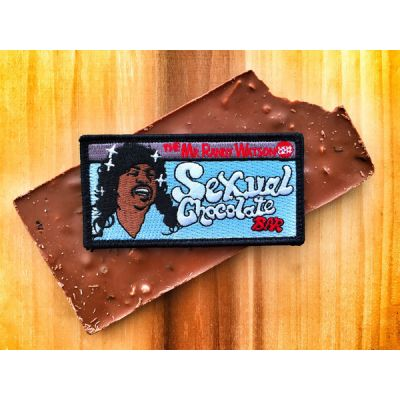 "COMING TO AMERICA ""SEXUAL CHOCOLATE BAR"" EDDIE MURPHY MORALE PATCH"
