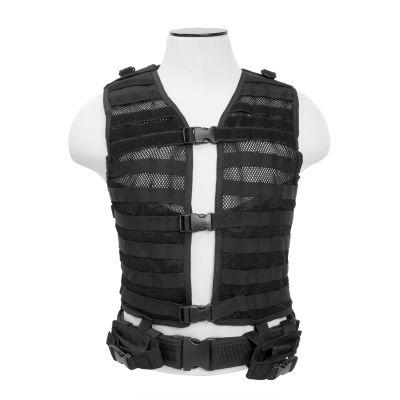Molle/Pals Vest/Black  M-Xl