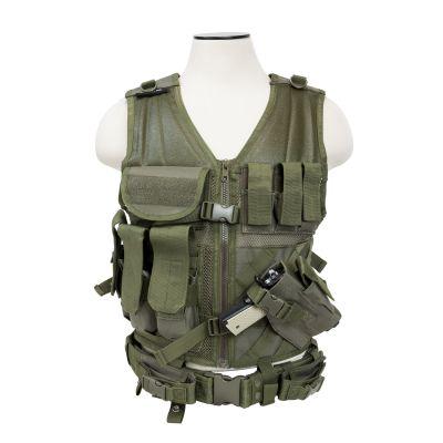 Tactical Vest/Green  M-Xl